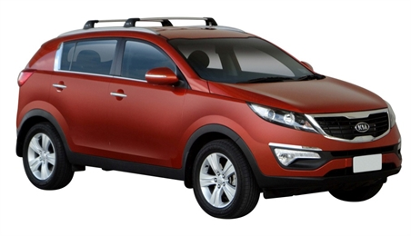 Багажник Whispbar FlushBar Kia Sportage, 5 Door SUV Aug 2010 - 2014 (Flush Rails) с низким рейлингом