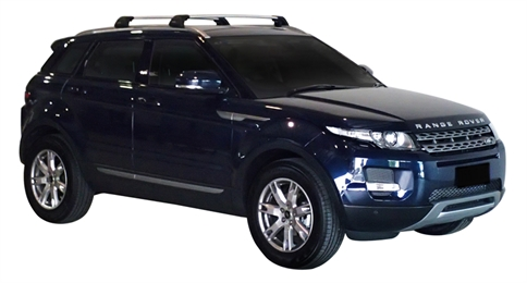 Багажник Whispbar FlushBar для Land Rover Evoque 2013, 5 Door SUV 2011 - 2014 (Rails) c рейлингами
