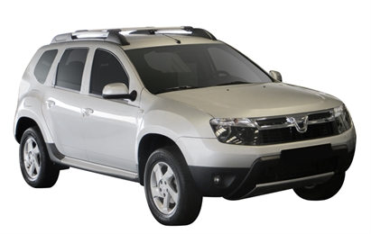 Багажник Whispbar с поперечиной RailBar для Renault Duster, 5 Door SUV 2010 -... (Rails) c рейлингами