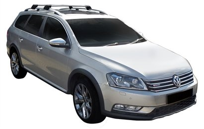 Багажник Whispbar FlushBar для Volkswagen Passat 2014, Alltrack 5 Door Estate Nov 2010 - 2014 (Rails) c рейлингами