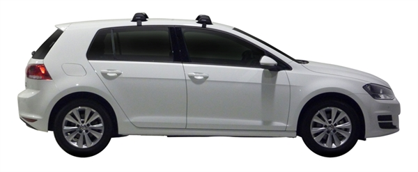 Багажник Whispbar FlushBar Volkswagen Golf, MK7 5 Door Hatch 2013+