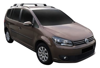 Багажник Whispbar FlushBar для Volkswagen Touran, 5 Door MPV Aug 2010 - 2014 (Rails) c рейлингами