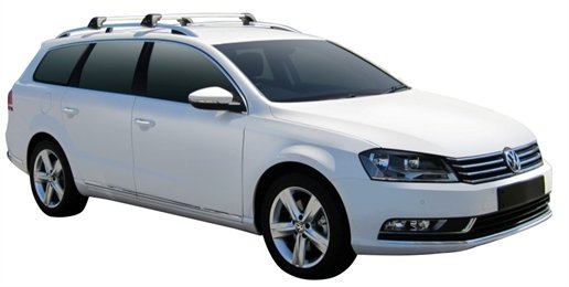 Багажник Whispbar FlushBar для Volkswagen Passat 2014, Variant 5 Door Estate Nov 2010 - 2014 (Rails) c рейлингами