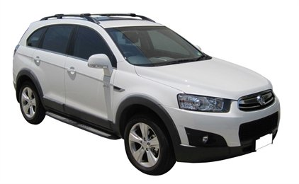 Багажник Wispbar с поперечиной RailBar Chevrolet Captiva, 5 Door SUV 2006 - 2014 (Rails) c рейлингами