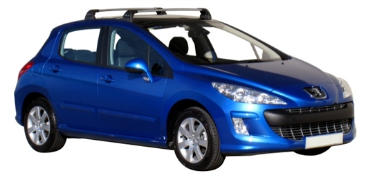 Багажник Whispbar FlushBar Peugeot 308, 5 Door Hatch 2007 - 2013 со штатными местами