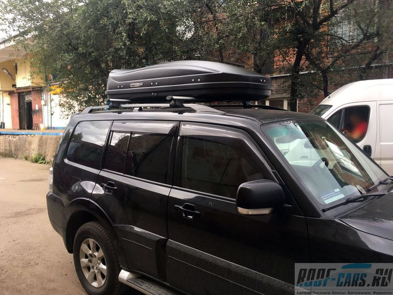 Купить в Туле Автобокс MaxBox PRO на 520 литровТула, Пролетарская 93а-89531887200-Roof-Cars.ru
