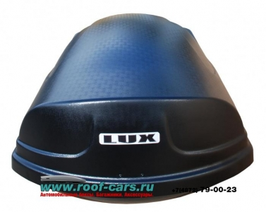 Бокс LUX960 480L  черный матовый 1960х780х420 отрытие с двух сторон