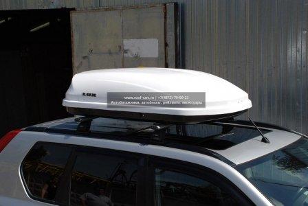 Бокс LUX600 440L Белый глянец 1600х920х400 отрытие с двух сторон