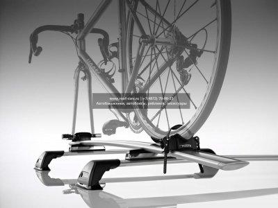Багажник для велосипедов на крыше Whispbar WB200. Фиксирование за вилку. Кол-во Велосипедов: 1