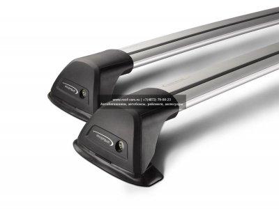 Багажник Whispbar FlushBar Nissan Qashqai 2014+ (Rails) c рейлингами