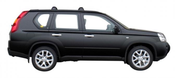 Багажник Whispbar FlushBar NISSAN X-trail T31 2007-2014, 5 дверный SUV, со штатными местами