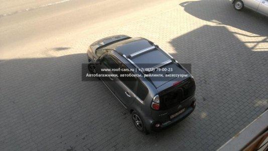 Багажник на рейлинги Fico Citroen C3 Picasso 2009 + (Rails) c рейлингами R54