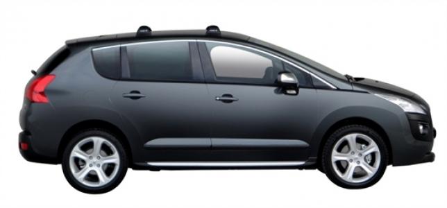 Багажник Whispbar FlushBar Peugeot 3008 2013, 5 Door SUV 2009 - 2015 со штатными местами