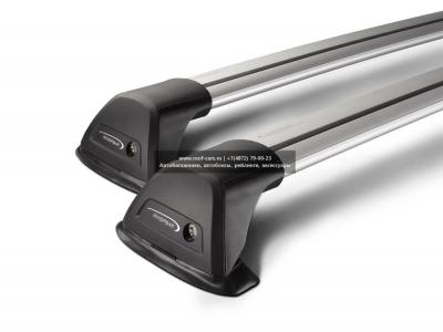 Багажник Whispbar FlushBar для Hyundai Santa Fe 2015, 5 Door SUV 2012 - 2015 (Flush Rails) с низким рейлингом