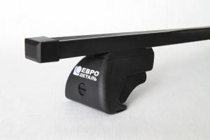 Багажник стальной универсальный ЕвроДеталь на рейлинги