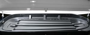 Бокс на крышу Turino (Серый) 175х82х45 открытие с одной стороны