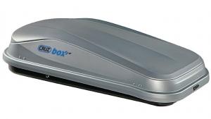 Грузовой бокс Cruzbox EASY 320, 132х78х36см, 320л, серый, (U-скоба 80мм)
