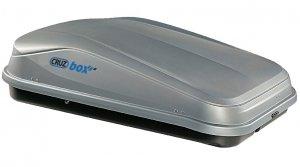 Грузовой бокс Cruzbox EASY 420, 145х94х40см, 420л, серый, (U-скоба 80мм)