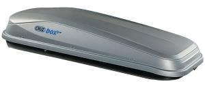 Грузовой бокс Cruzbox EASY 480, 198х78х40см, 480л, серый, (U-скоба 80мм)