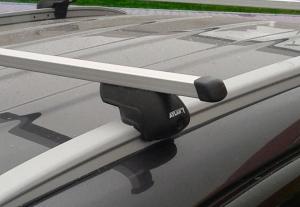 Багажник Atlant с опорами 8811 на интегрированные рейлинги (прямоугольная дуга)