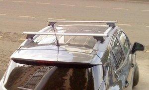 Багажник Atlant с опорами 8811 на интегрированные рейлинги (аэродинамическая дуга)