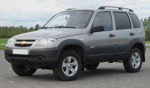Рейлинги APS Chevrolet-Niva L