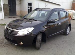 Рейлинги APS Renault Sandero I 2009-2014
