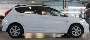Рейлинги APS Hyundai Solaris-Хэтчбек  С ВКЛАДЫШЕМ!!!