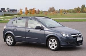 Рейлинги APS Opel Astra H 5дв. хэтчбек 2007-