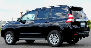 Рейлинги APS Toyota Land Cruiser Prado 150