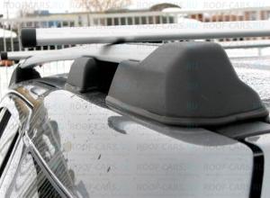 Рейлинги черные или серые для Land Rover Freelander 2 2007-