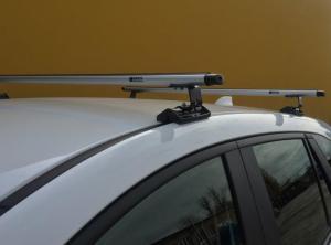 Багажник Евродеталь для автомобилей со штатными местами в крыше (Вид Е)