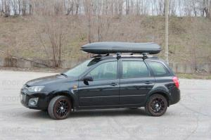 Автобокс - багажник на крышу COSMO 210  218х73х32 см., 485 литров