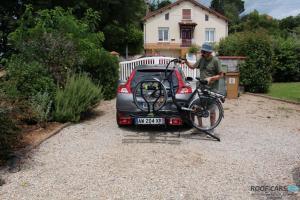 Велобагажник на фаркоп Buzzrack Scorpion - 2 велосипеда