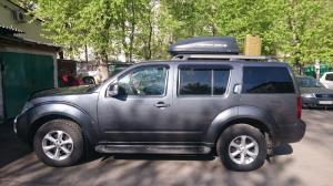Автобокс-багажник TERRA DRIVE 320  Размеры: 134x86x37 см. Объем: 320 л.  Одностороннее открытие