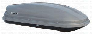 Бокс LUX735 450L серый металлик 1735х810х415 с двустор. откр.