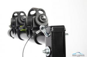 Крепление на фаркоп для 2-ух велосипедов BUZZRACK Gazelle