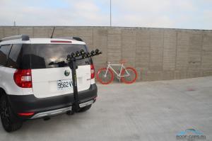 Крепление для перевозки 3-ех велосипедов BUZZRACK Moose 3