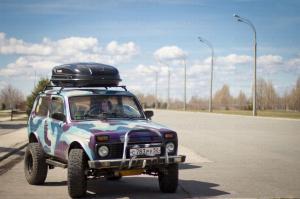 Автобокс PRAGMATIC Цвета: (черный, белый, серый) 410 литров 150 100