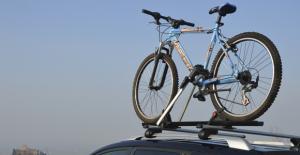 Велокрепление на крышу Menabo Juza (с ключом)