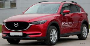 Рейлинги в штатное место APS Mazda CX-5 II 2017 - С ВКЛАДЫШЕМ!!!