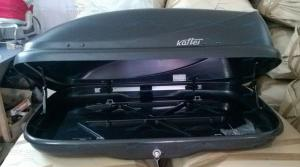 Автобокс Koffer T80 1300х820х325мм на 320 литров. Открытие с 2-ух сторон.
