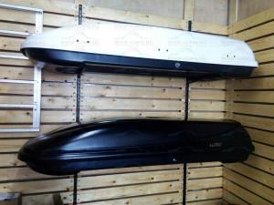 Автобокс Koffer T600 1872х634х374 на 330 литров. Открытие с 2-ух сторон