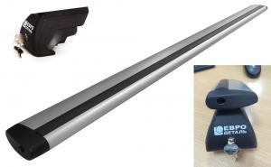 Багажник Аэро-Крыло универсальный ЕвроДеталь на интегрированные рейлинги без просвета с замком