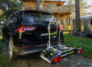 Велобагажник (Велокрепление) на фаркоп Buzz Runner SPARK 2 New  Buzzrack