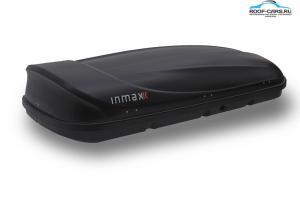АвтоБокс на крышу INMAX Space 460 1860*860*365мм (черный шагрень) - Открытие с 2-ух строн