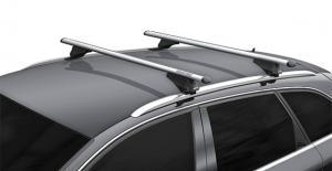 Багажник Menabo TIGER (120 см) (ключи) на интегрированные рейлинги