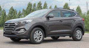 Hyundai Tucson 2015- Рейлинги APS (без сверления крышы)