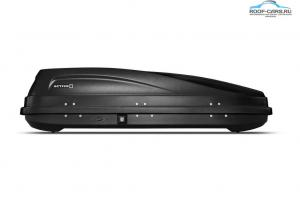 Автобокс на крышу черный, серый, белый ACTIVE S (320 л) Аэродинамический с 2-ух сторонним открытием 150х75х38 см