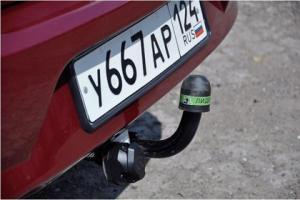Фаркоп Лидер-Плюс R114-A Renault Logan I седан 2005-2014